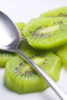 Free Dessert Of Kiwi And Orange Stock Photos - 6912773
