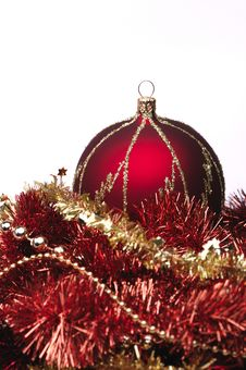 Free Red Christmas Decorations Royalty Free Stock Photos - 6912848