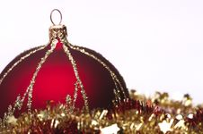 Free Red Christmas Decorations Royalty Free Stock Photos - 6912898