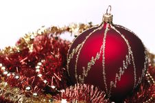 Free Red Christmas Decorations Stock Image - 6912901
