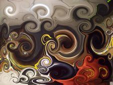 Free Abstract Twirl Background Stock Photography - 6913042