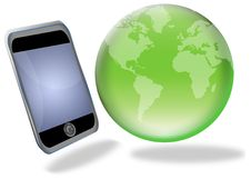 Free Phone World Royalty Free Stock Photography - 6914557