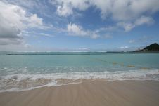 Free Blue Horizon Of Casle Bay Stock Images - 6914604