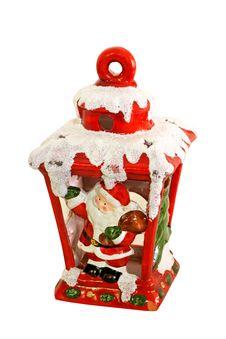 Free Santa Claus Lantern Stock Image - 6914611