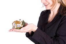 Free Holding House Stock Photo - 6914900