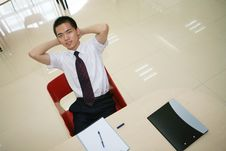 Free Young  Businessman In His Office Royalty Free Stock Image - 6915046