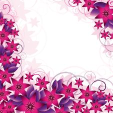 Free Floral Background Royalty Free Stock Photography - 6915237