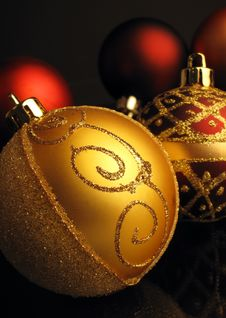 Free Christmas Spheres Stock Photography - 6915882