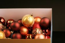 Free Christmas Spheres Royalty Free Stock Image - 6915916