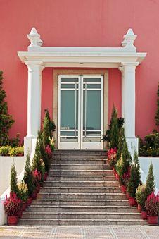 Colourful Doorway Stock Image