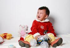 Free Santa Baby Stock Photo - 6916260