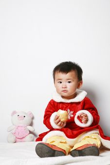 Free Santa Baby Stock Photography - 6916502