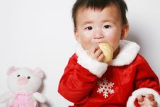 Free Santa Baby Royalty Free Stock Images - 6916529