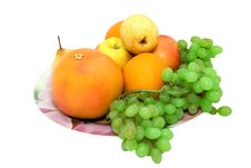 Free Dish Full Of Fruits Royalty Free Stock Photography - 6916737