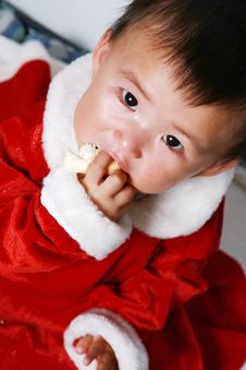 Free Santa Baby Royalty Free Stock Photos - 6916808