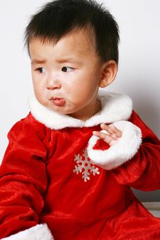 Free Santa Baby Royalty Free Stock Photography - 6916837