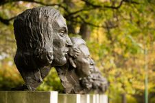 Free Sculptures Of Polish Historical Scientists Royalty Free Stock Images - 6917209
