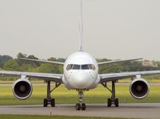 Free Taxiing After Landing Stock Photos - 6917243