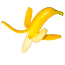 Free Ripe Peeled Banana Stock Photo - 6917390