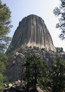 Free Devils Tower, Wyoming Stock Photography - 6918082