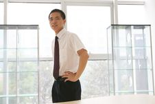 Free Young   Business Man In Office Stock Photo - 6918350