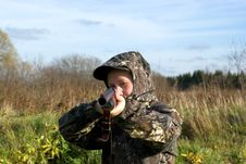 Free The Hunter Stock Photos - 6919093