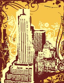 Free Grunge Urban Background Stock Photography - 6919152