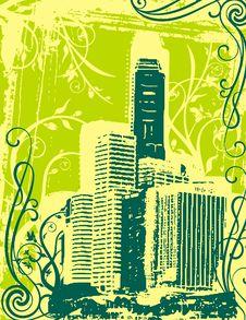 Free Grunge Urban Background Stock Images - 6919194