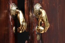 Free Door Handle Royalty Free Stock Image - 6919226