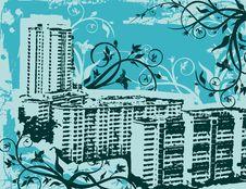 Grunge Urban Background Stock Photography