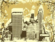 Grunge Urban Background Royalty Free Stock Images