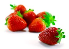 Heap Of Strawberries Royalty Free Stock Photos
