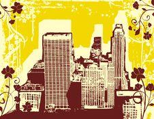 Free Grunge Urban Background Stock Photography - 6919352