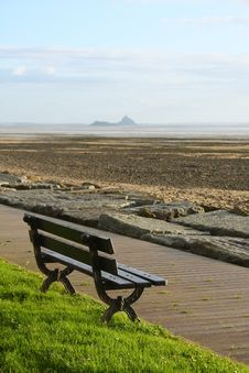 Free View On The Bay Of Mont Saint Michel Stock Images - 6919464