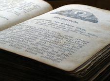 Free Prayer Book Opened Stock Photos - 6919593