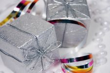 Free Christmas Gifts And Ornaments Stock Photos - 6919893