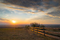 Free Meadow With Wooden Fence Royalty Free Stock Photo - 69144315
