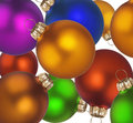 Free Christmas Colorful Balls Stock Images - 6923444