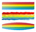 Free Rainbow Crayon Scribble Stock Photo - 6925190
