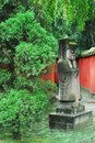 Free Path To Liu Bei Mausoleum Royalty Free Stock Image - 6926816