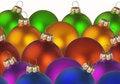 Free Christmas Colorful Balls Stock Photography - 6926942