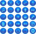 Free Web Icons Set Royalty Free Stock Images - 6929729