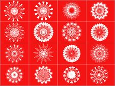 Free Snowflakes - Vector Royalty Free Stock Photography - 6920117