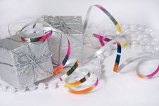 Free Christmas Gifts And Ornaments Stock Photos - 6920143