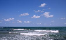 Free Sea And Blue Sky. Royalty Free Stock Photos - 6920518