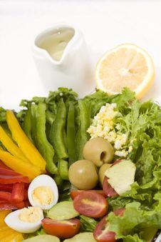 Free Salad Close Up Royalty Free Stock Photo - 6921025