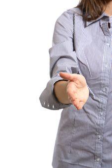 Free Business Woman Handshake Royalty Free Stock Image - 6921146