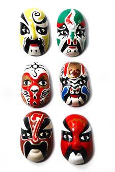 Free Chinese Traditional Opera Mask Stock Image - 6921541