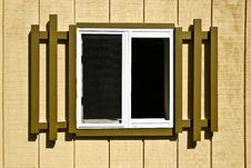 Free Exterior Window Of Shed Stock Photography - 6921652