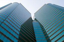 Free Hongkong Modern Skyscrapers Royalty Free Stock Image - 6921816